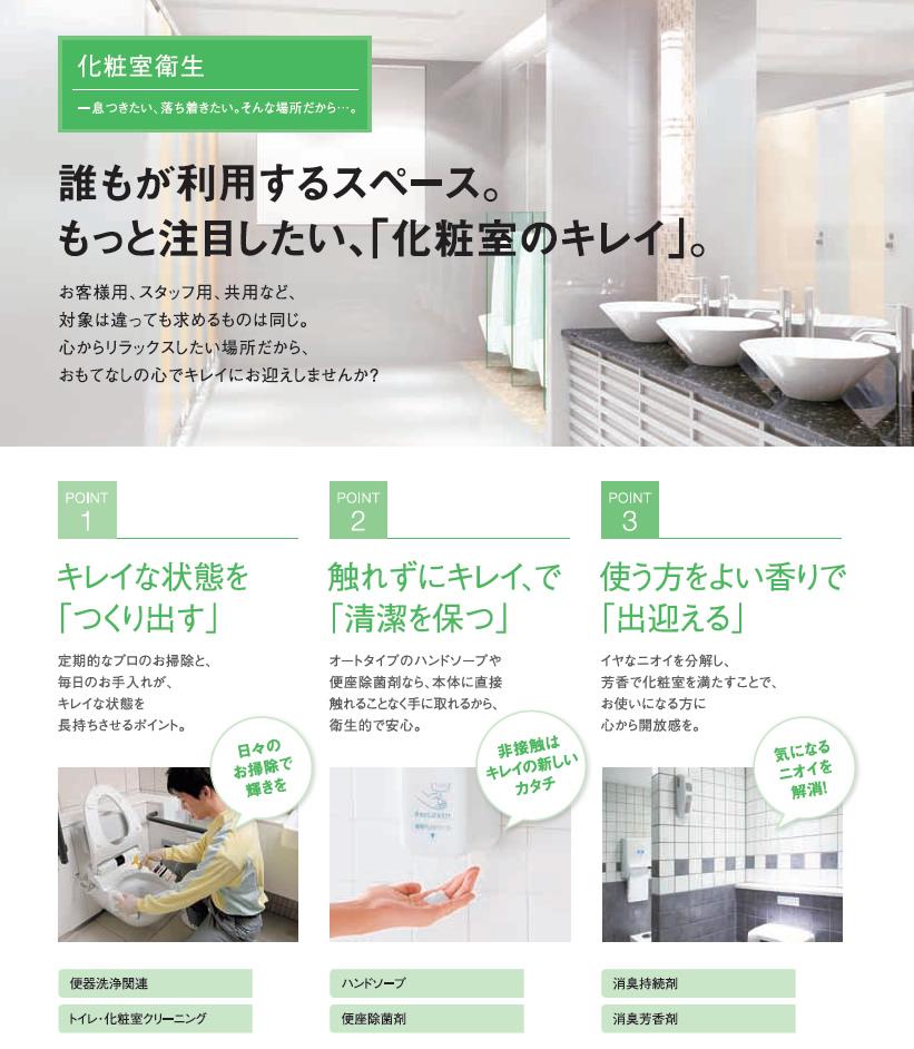 化粧室衛生